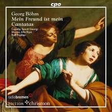 Georg Böhm (1661-1733): Vier Kantaten, CD