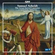 Samuel Scheidt (1587-1654): 9 Geistliche Konzerte, CD