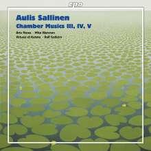 Aulis Sallinen (geb. 1935): Werke für Kammerorchester, CD