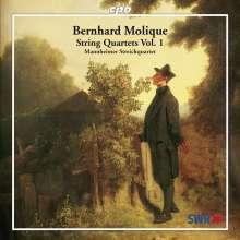 Wilhelm Bernhard Molique (1802-1869): Streichquartette op.18 Nr.1 & 2, CD