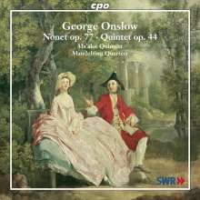 Georges Onslow (1784-1852): Nonett op.77, CD