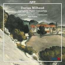 Darius Milhaud (1892-1974): Klavierkonzerte 1-5, 2 CDs