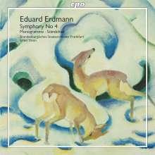 Eduard Erdmann (1896-1958): Symphonie Nr.4, CD