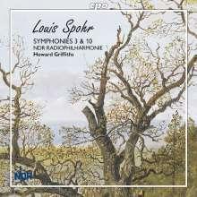 Louis Spohr (1784-1859): Symphonien Nr.3 & 10, Super Audio CD