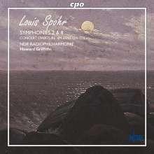 Louis Spohr (1784-1859): Symphonien Nr.2 & 8, SACD