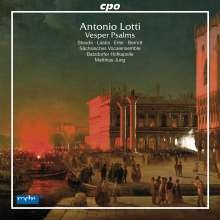 Antonio Lotti (1666-1740): Vesperpsalmen, CD