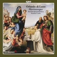 Orlando di Lasso (Lassus) (1532-1594): Vespro della Maria Vergine, CD