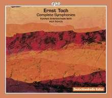 Ernst Toch (1887-1964): Symphonien Nr.1-7, 3 CDs