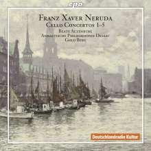 Franz Xaver Neruda (1843-1915): Cellokonzerte Nr.1-5, 2 CDs