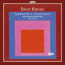 Ernst Krenek (1900-1991): Symphonie Nr.4, CD