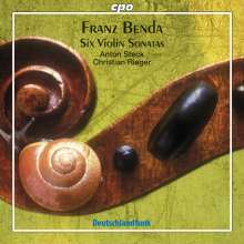 Frantisek Benda (1709-1786): Violinsonaten in C,a,F,E,C,Es, CD