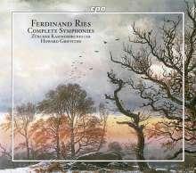 Ferdinand Ries (1784-1838): Symphonien Nr.1-8, 4 CDs