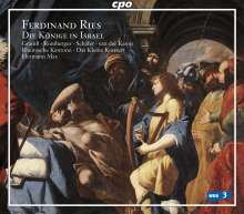 Ferdinand Ries (1784-1838): Die Könige in Israel (Oratorium), 2 Super Audio CDs
