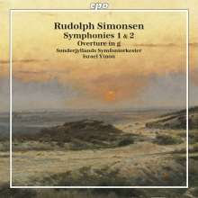Rudolph Simonsen (1889-1947): Symphonien Nr.1 & 2, CD