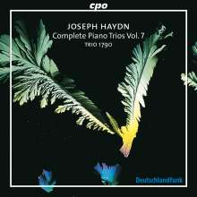 Joseph Haydn (1732-1809): Sämtliche Klaviertrios Vol.7, CD