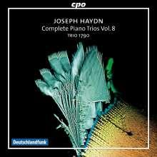 Joseph Haydn (1732-1809): Sämtliche Klaviertrios Vol.8, 2 CDs