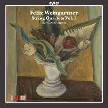 Felix Weingartner (1863-1942): Streichquartette Vol.1, CD