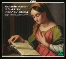 Alessandro Scarlatti (1660-1725): Il Martirio di Santa Cecilia (Oratorium,Rom 1708), 2 CDs