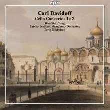Carl Davidoff (1838-1889): Cellokonzerte Nr.1 & 2, CD