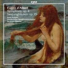 Eugen D'Albert (1864-1932): Symphonie op.4, CD