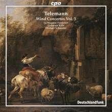 Georg Philipp Telemann (1681-1767): Bläserkonzerte Vol.3, CD