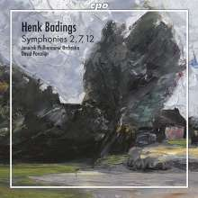 Henk Badings (1907-1987): Symphonien Nr.2,7,12, CD
