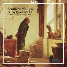 Wilhelm Bernhard Molique (1802-1869): Streichquartette op.18 Nr.3 & op.28, CD