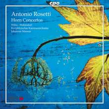 Antonio Rosetti (1750-1792): Hornkonzerte Murray C48 & C50, CD
