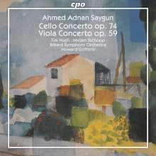 Ahmed Adnan Saygun (1907-1991): Cellokonzert op.74, CD