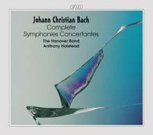 Johann Christian Bach (1735-1782): Konzertante Sinfonien Vol.1-6, 6 CDs