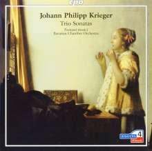 Johann Philipp Krieger (1649-1725): Triosonaten Nr.1-12 (1688) für 2 Violinen & Bc, CD