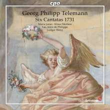 Georg Philipp Telemann (1681-1767): 6 Kantaten (1731), CD