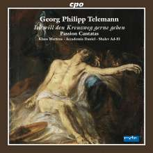 Georg Philipp Telemann (1681-1767): Passions-Kantaten, CD