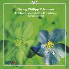 "Georg Philipp Telemann (1681-1767): Triosonaten ""Trietti metodichi e Scherzi"", CD"