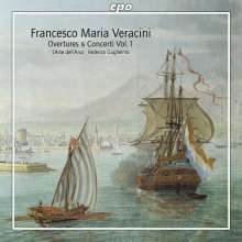 Francesco Maria Veracini (1690-1768): Ouvertüren & Concerti Vol.1, Super Audio CD