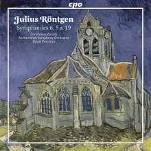Julius Röntgen (1855-1932): Symphonien Nr.5,6,19, CD
