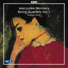 Mieczyslaw Weinberg (1919-1996): Streichquartette Vol.1, CD