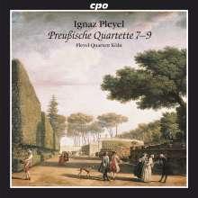 """Ignaz Pleyel (1757-1831): Streichquartette """"Preußische Quartette 7-9"""", CD"""
