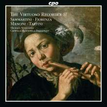 Michael Schneider - The Virtuoso Recorder Vol.2 (Concertos of the Italian Baroque), CD