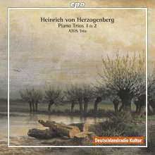 Heinrich von Herzogenberg (1843-1900): Klaviertrios Nr.1 & 2 (op.24 & 36), CD