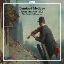 Wilhelm Bernhard Molique (1802-1869): Streichquartette op.16 & 17, CD
