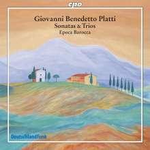 Giovanni Benedetto Platti (1697-1763): Sonaten & Triosonaten, CD