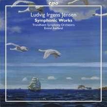 Ludvig Irgens-Jensen (1894-1969): Symphonie d-moll, 2 CDs