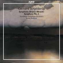 Gerhard Schjelderup (1859-1933): Symphonie Nr.2, CD