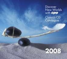CPO-Gesamtkatalog 2008 + Fesca-Symphonien, CD