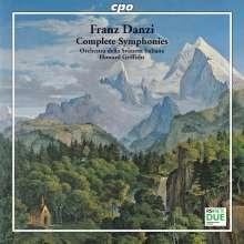 Franz Danzi (1763-1826): Sämtliche Symphonien, 2 CDs