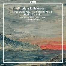 Edvin Kallstenius (1881-1967): Symphonie Nr.1, CD