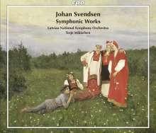 Johan Svendsen (1840-1911): Orchesterwerke, 3 CDs
