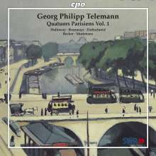 Georg Philipp Telemann (1681-1767): Pariser Quartette Vol.1, CD