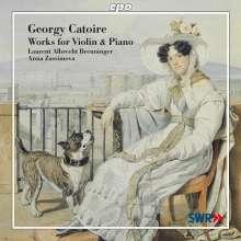 Georges Catoire (1861-1926): Sämtliche Werke für Violine & Klavier, CD